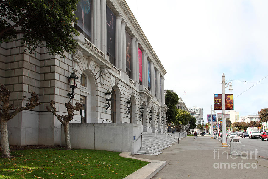 The San Francisco War Memorial Opera House - San Francisco Ballet 5d22586 Photograph