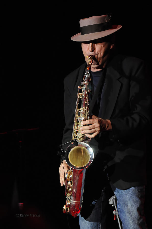 The Sax Man Photograph