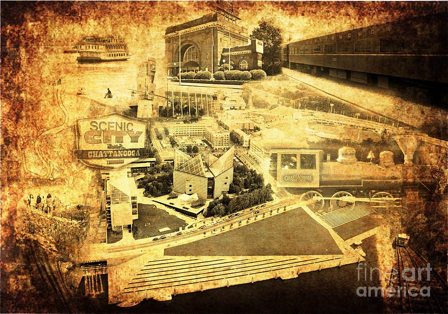 The Scenic City Digital Art  - The Scenic City Fine Art Print