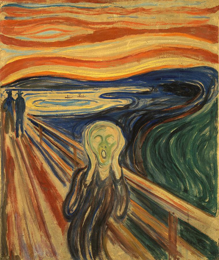 The Scream Edvard Munch 1910 Painting by Movie Poster Prints : the scream edvard munch 1910 movie poster prints from fineartamerica.com size 759 x 900 jpeg 151kB