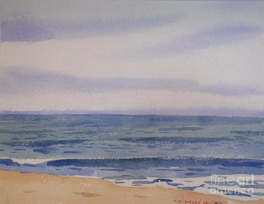 The Sea II Painting