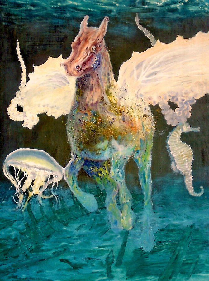 The Seahorse Painting