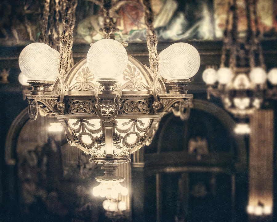 The Senate Chandeliers  Photograph