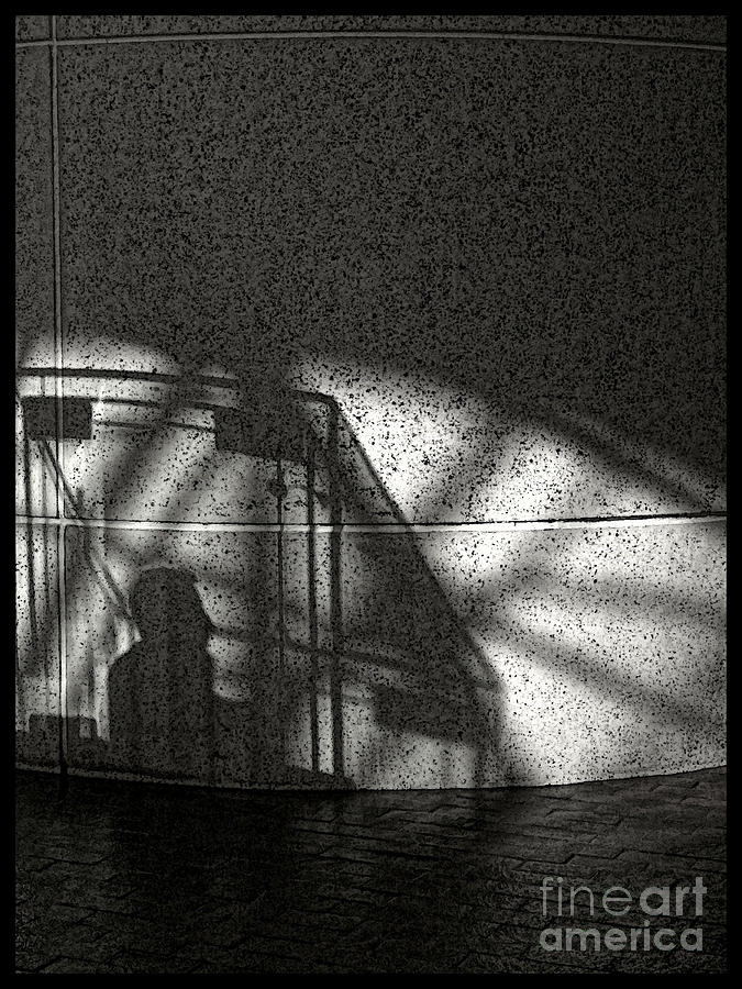 The Shadow Of  Man Photograph  - The Shadow Of  Man Fine Art Print