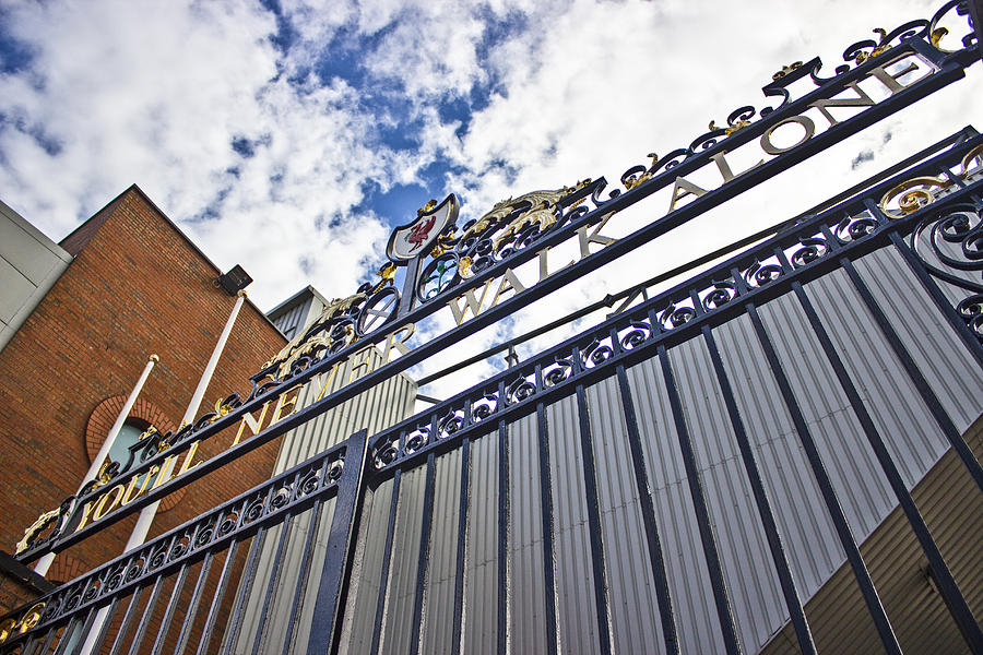 The Shankly Gates Anfield Photograph By Paul Madden