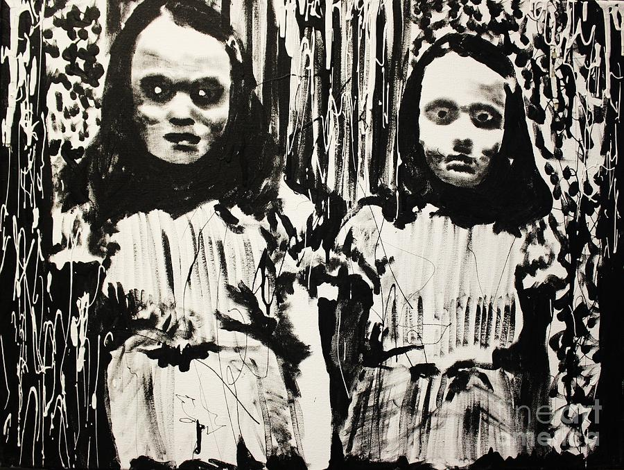 The Shining Girls Painting  - The Shining Girls Fine Art Print