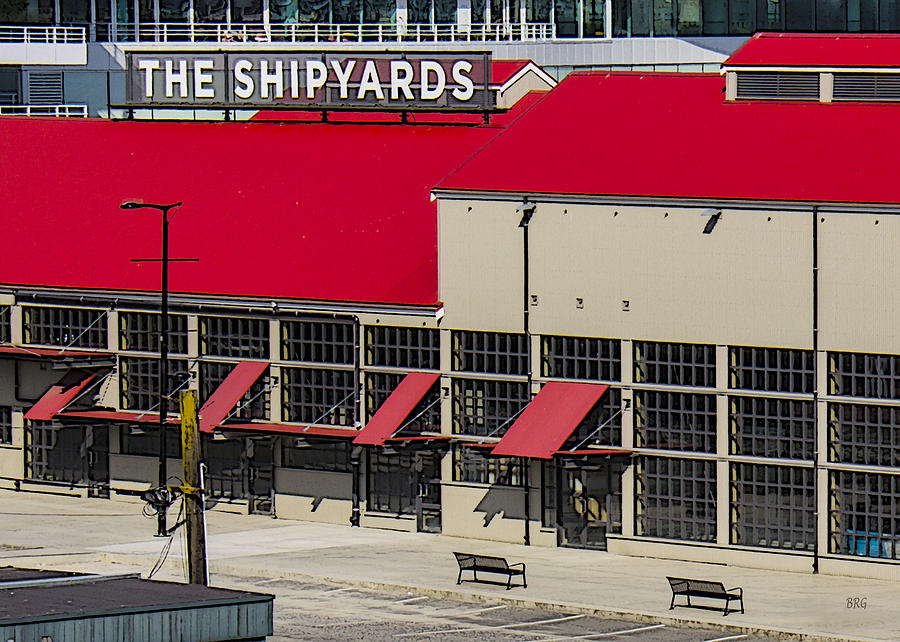The Shipyards In Vancouver Photograph