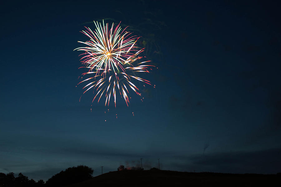 West Virginia Day Fireworks Show Begins Photograph