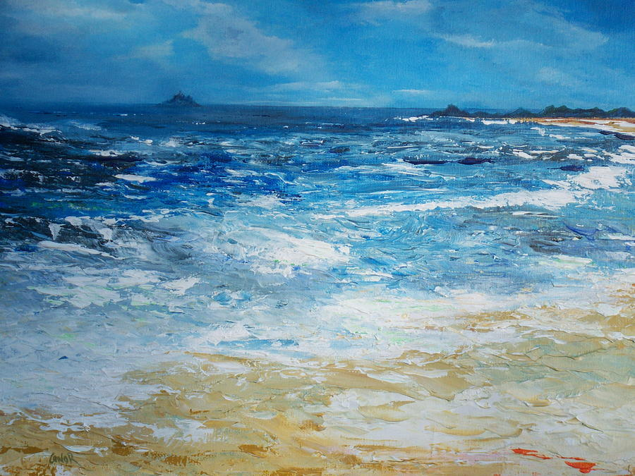 The Skellig Islands Painting