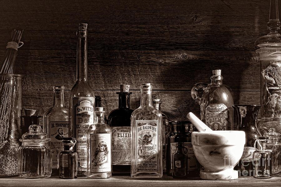 The Snake Oil Shop Photograph