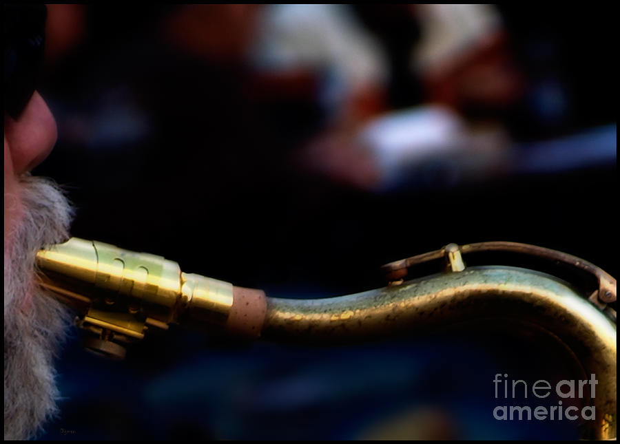 Music Photograph - The Snake by Steven  Digman