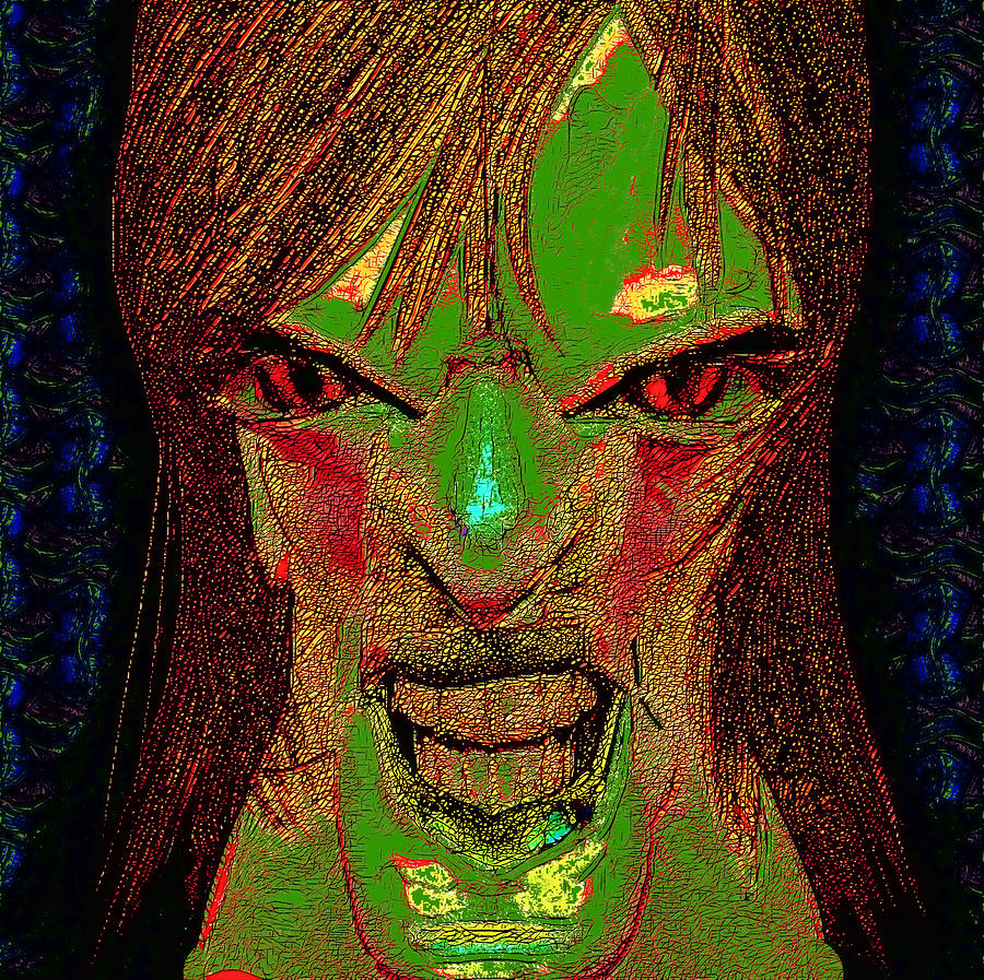 The Soul Gatherer Digital Art