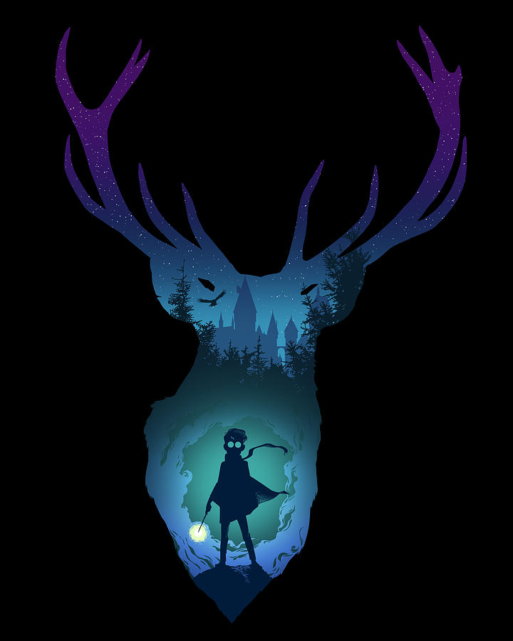The Stag Digital Art