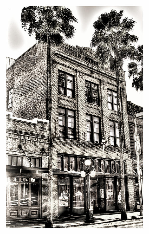 Ybor City Photograph - The Stein Building by Marvin Spates
