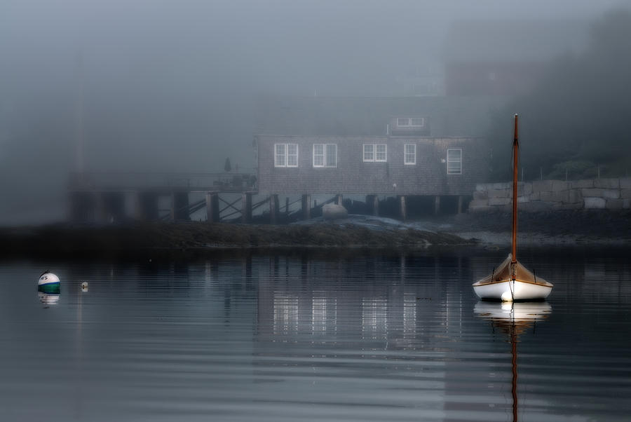 The Still Of Morning - Maine Photograph
