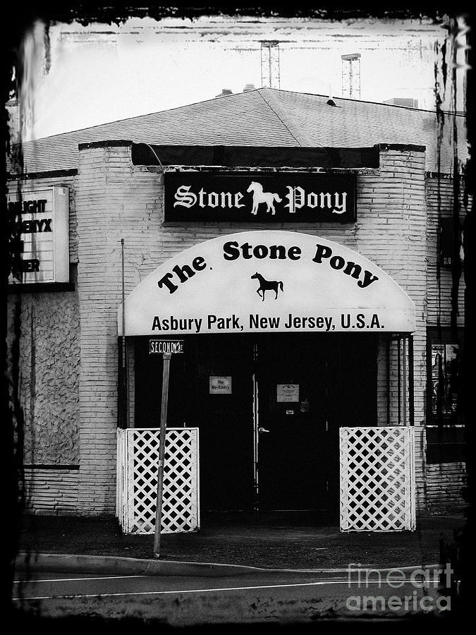 The Stone Pony Photograph  - The Stone Pony Fine Art Print