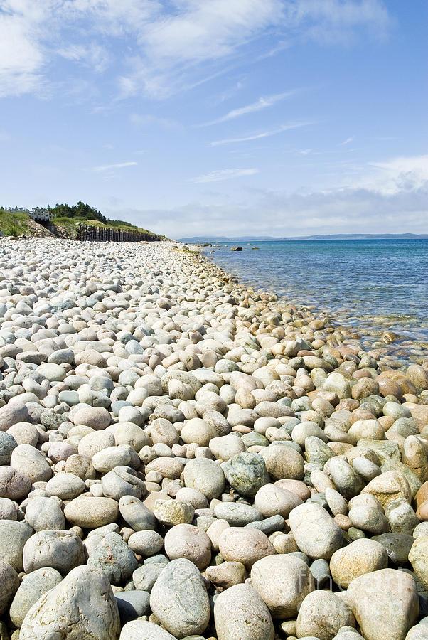 The Stones On Beach Photograph