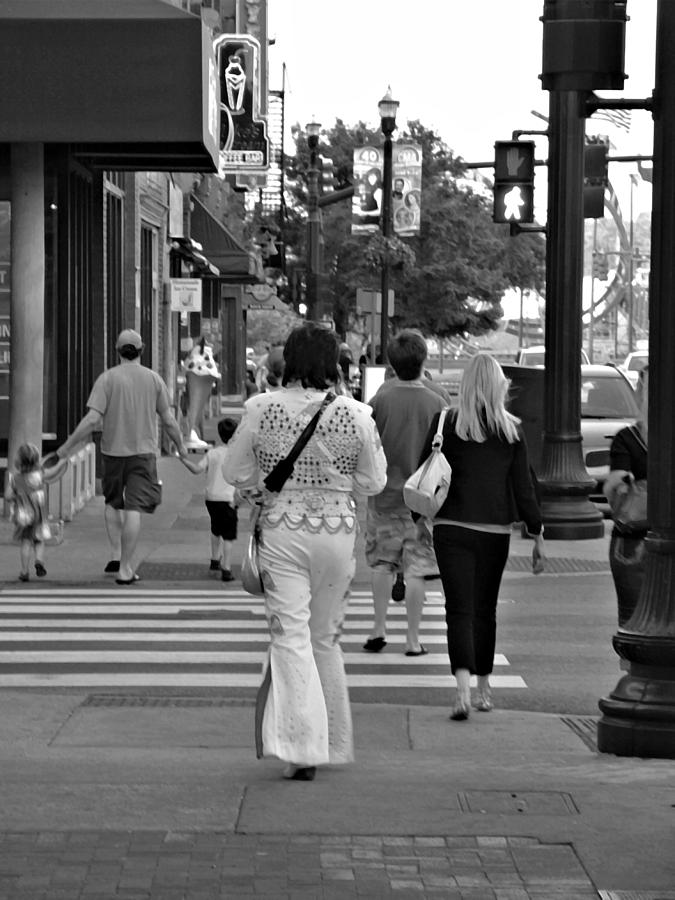 The Streets Of Nashville Photograph