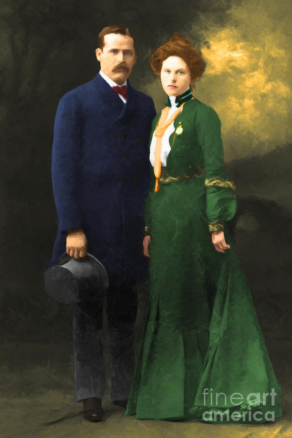 The Sundance Kid Harry Longabaugh And Etta Place 20130515 Photograph