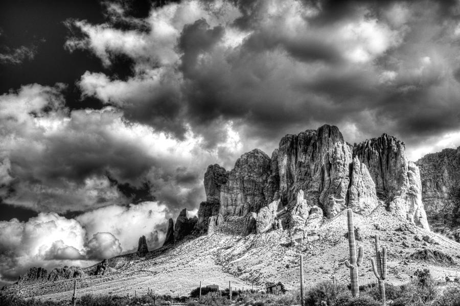 The Superstitions  Photograph  - The Superstitions  Fine Art Print