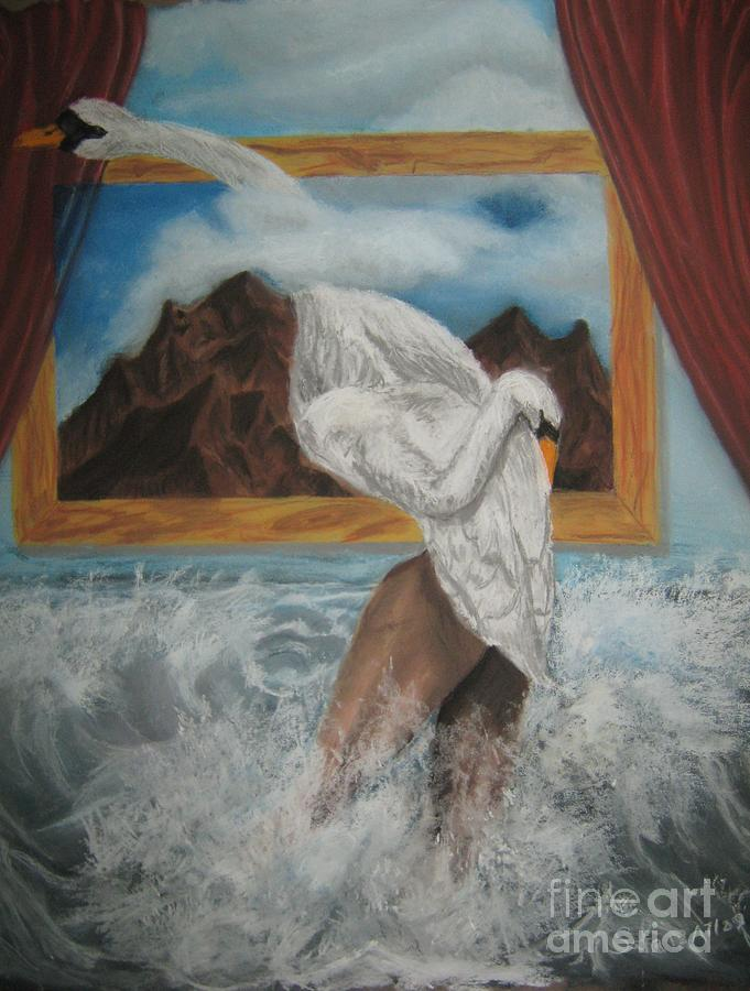 The Swan Song Painting