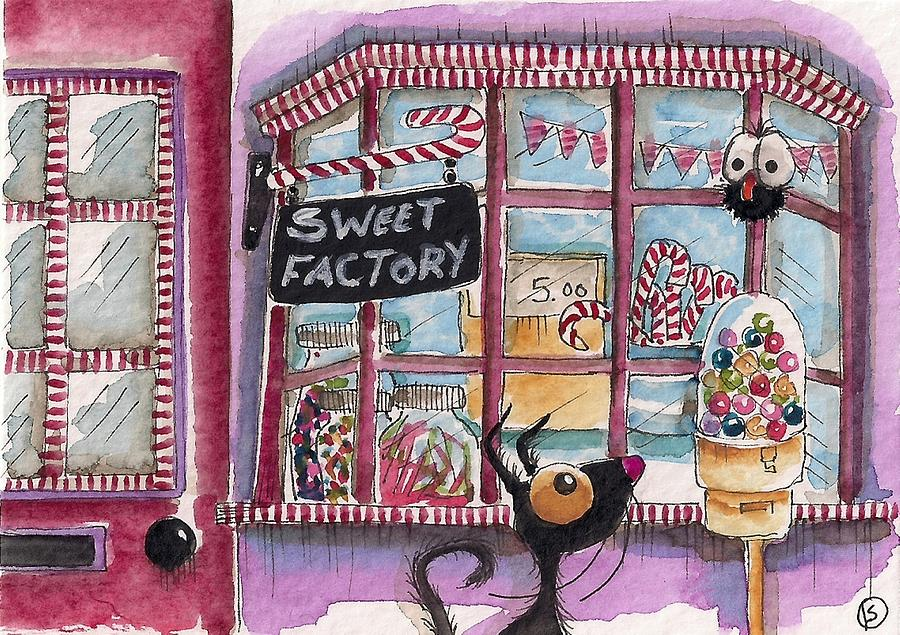 The Sweet Factory Painting