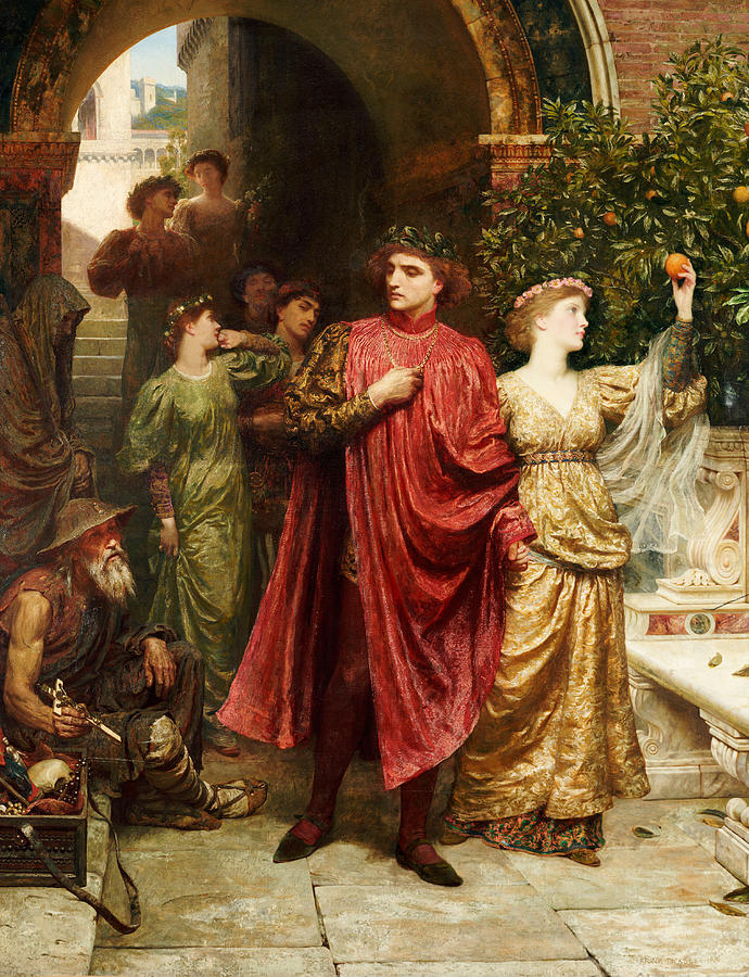 Sir Painting - The Symbol by Sir Frank Dicksee