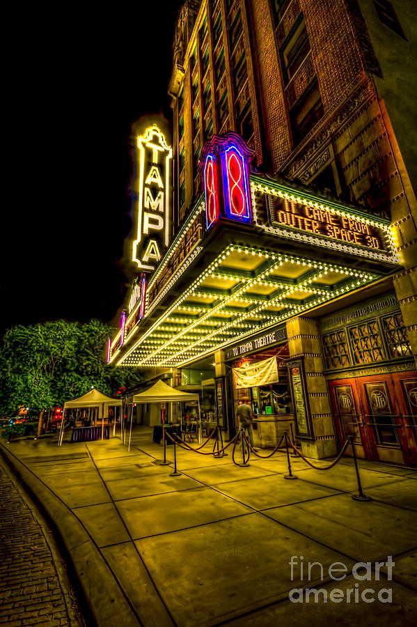 The Tampa Theater Photograph