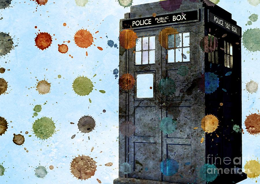 The Tardis I Painting  - The Tardis I Fine Art Print