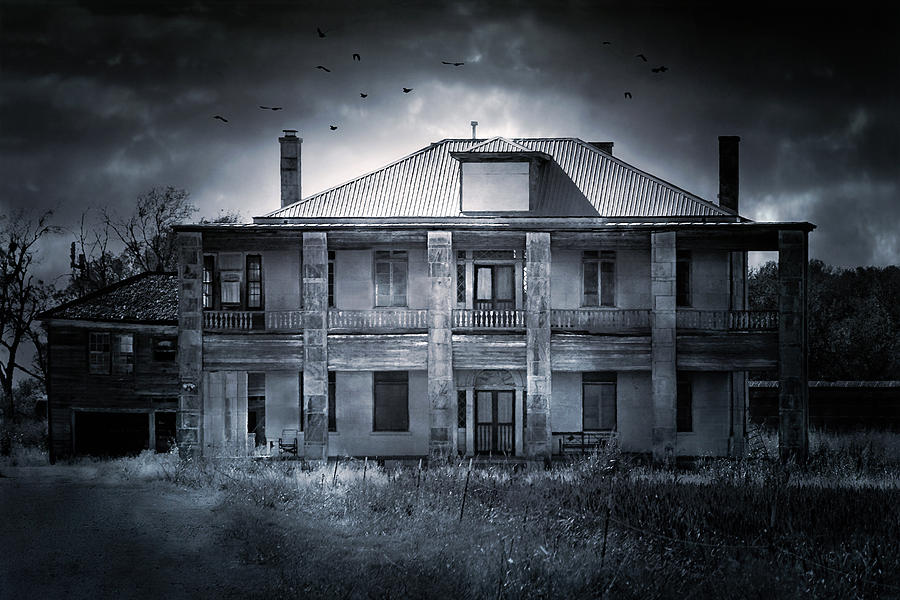 The Texas Chainsaw Massacre - Hewitt House #9 Photograph  - The Texas Chainsaw Massacre - Hewitt House #9 Fine Art Print