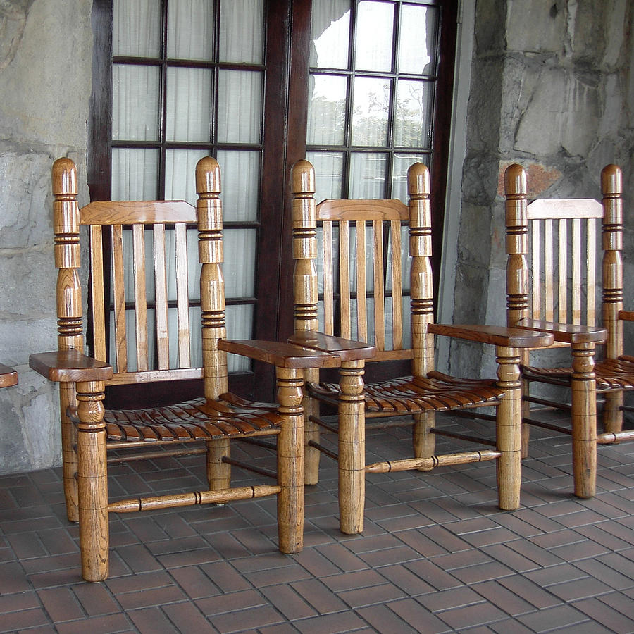 The Three Chairs Photograph