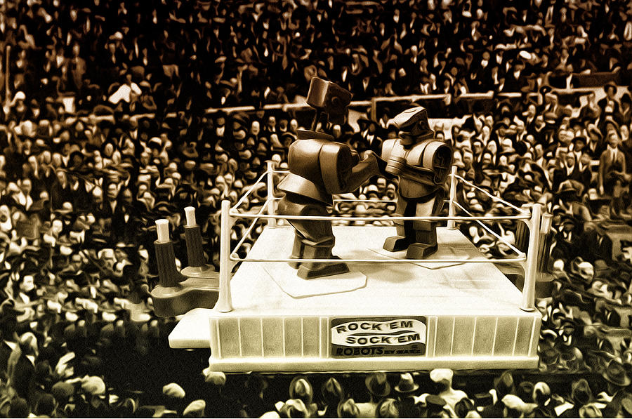 The Thrilla In Toyvilla Photograph