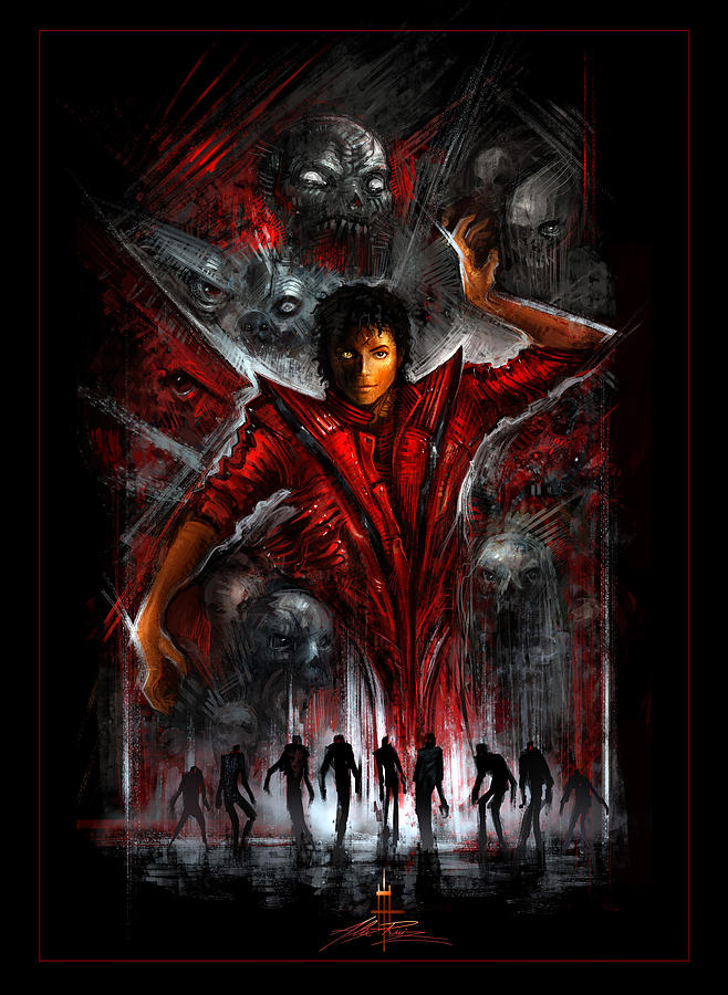 The Thriller Digital Art