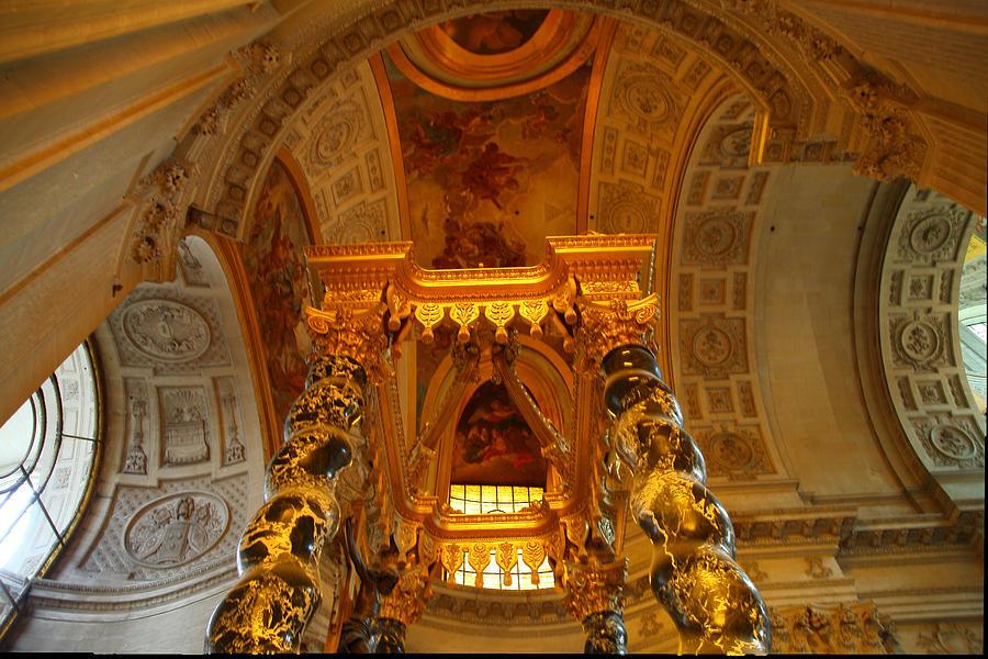 Paris Photograph - The Tombs At Les Invalides - Paris France - 011324 by DC Photographer
