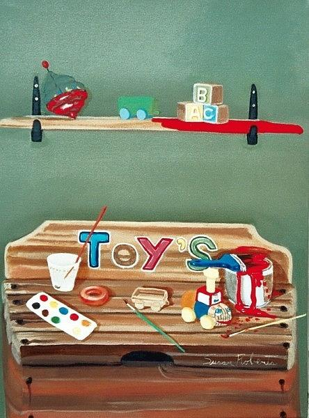 The Toy Chest Painting