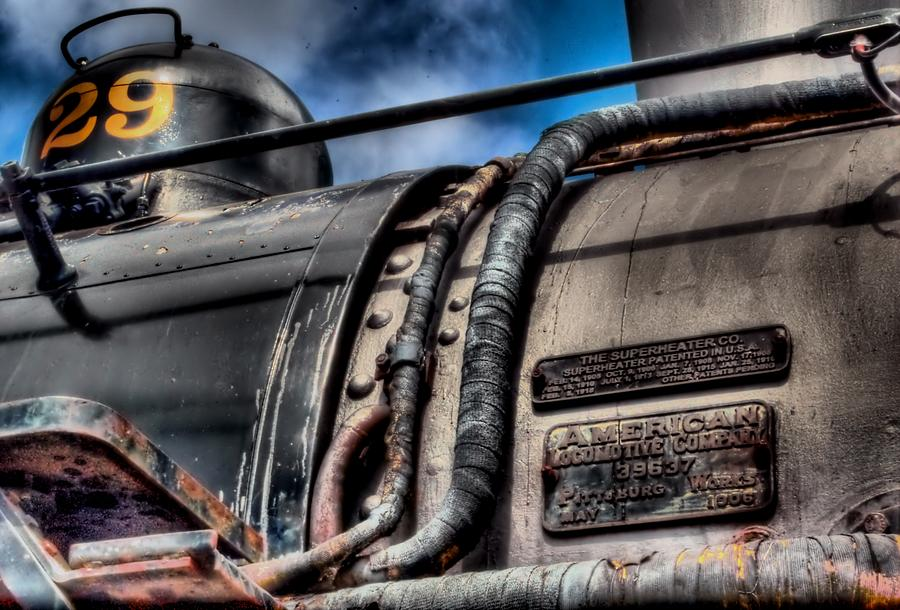 Hdr Photograph - The Train by DH Visions Photography