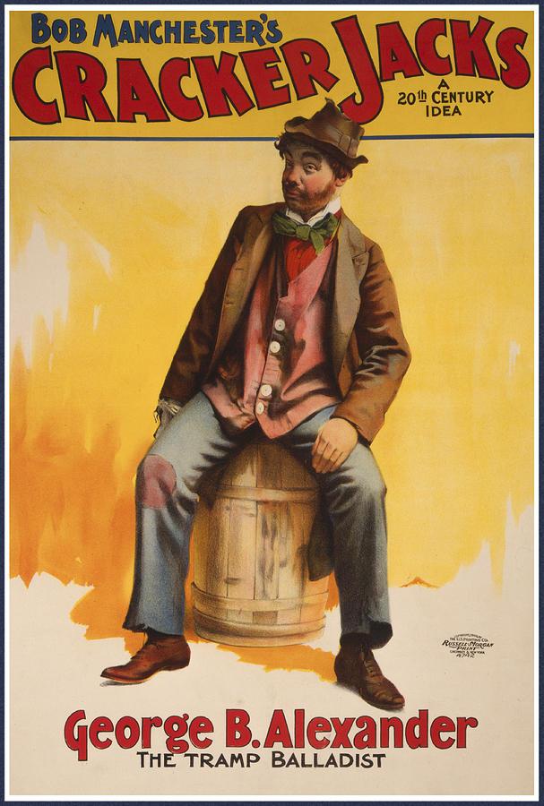 The Tramp Balladist Drawing