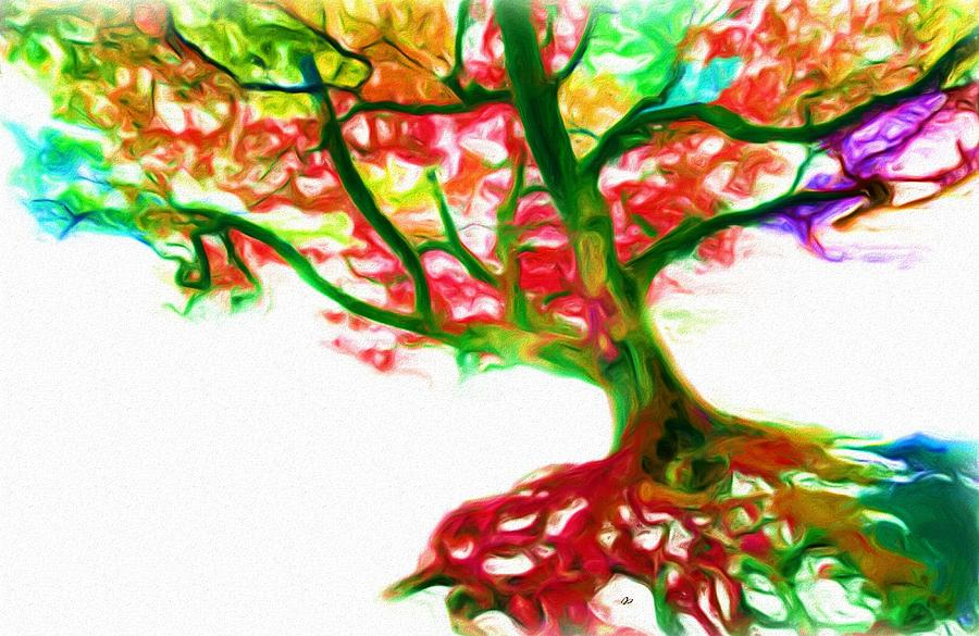 The Tree Of Life Painting by Jared Johnson