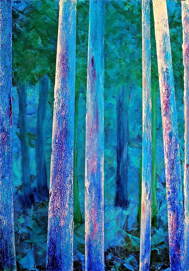 The Trees Painting  - The Trees Fine Art Print