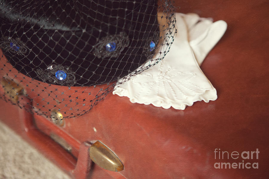 Clothing Photograph - The Trip-the Suitcase by Kay Pickens