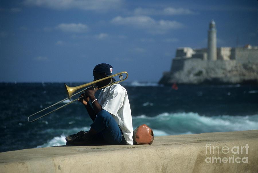 The Trombonist Photograph