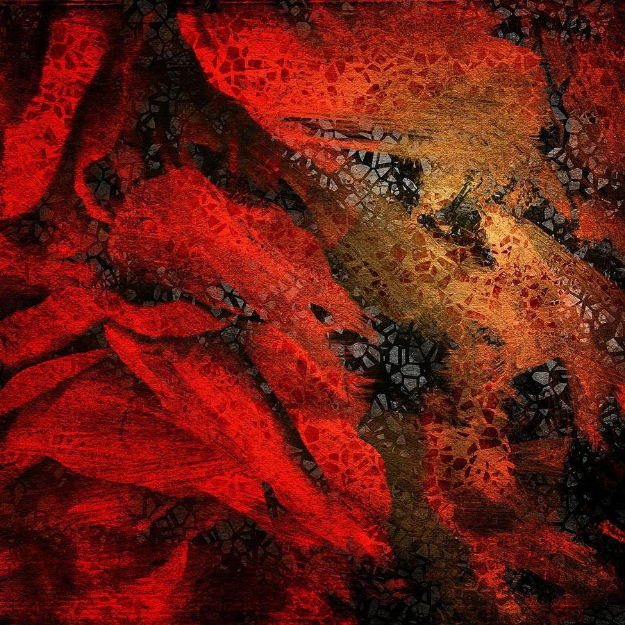 Abstract Digital Art - The Underlying Net by Gun Legler