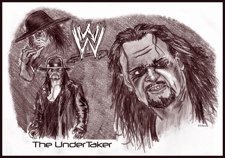 The Undertaker Drawing