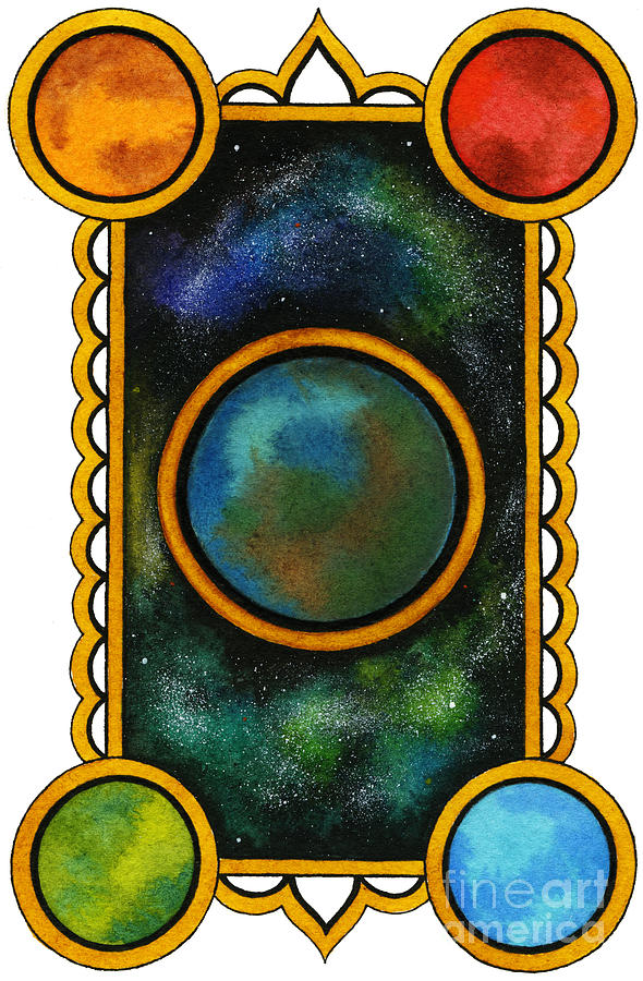 The Universe Painting  - The Universe Fine Art Print