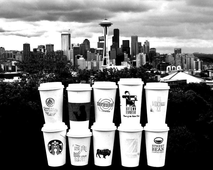 The Usual Seattle Suspects Photograph  - The Usual Seattle Suspects Fine Art Print