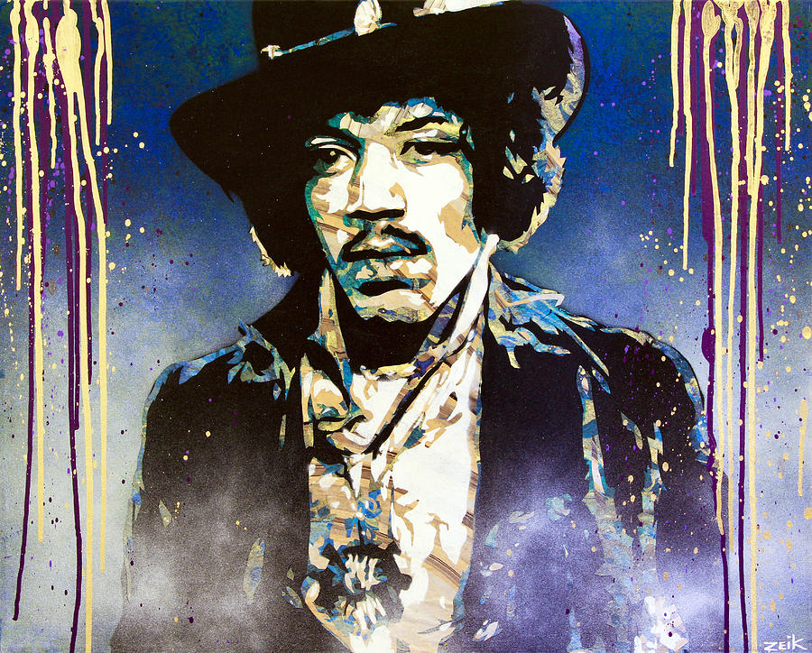The Voodoo Child Painting