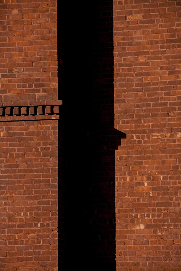 The Wall Shadow Photograph  - The Wall Shadow Fine Art Print