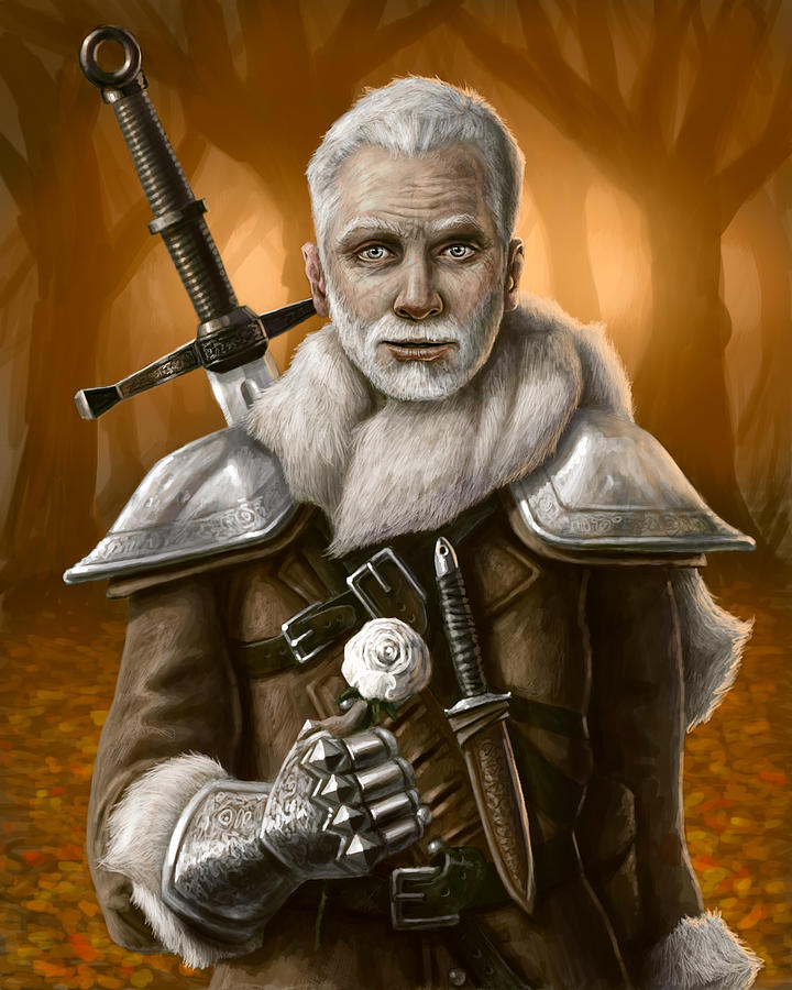 The Warden Digital Art