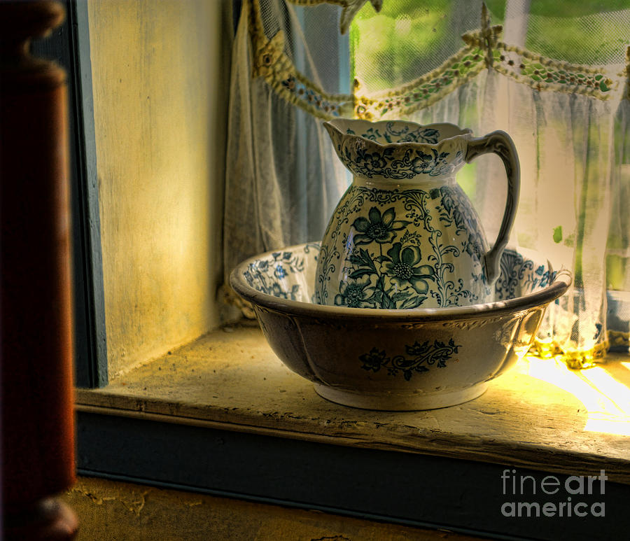 The Wash Basin Photograph  - The Wash Basin Fine Art Print