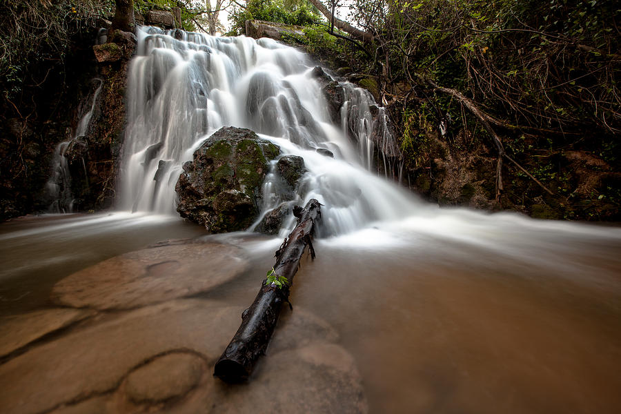 The Waterfall Photograph  - The Waterfall Fine Art Print